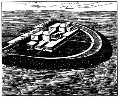 проект американской плавучей атомной станции