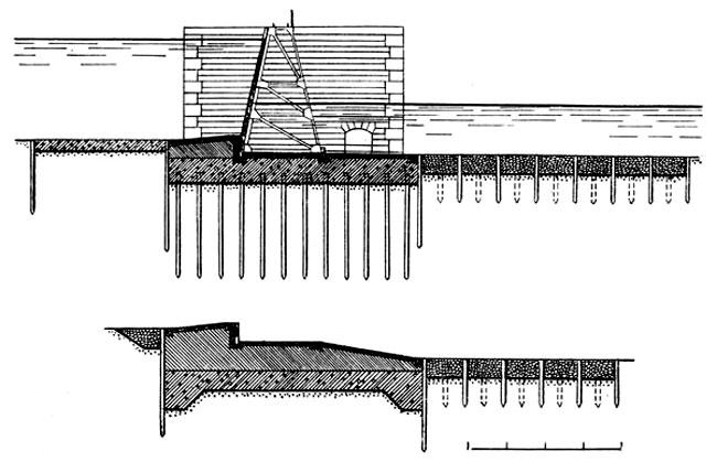 Схема флютбетов разборчатых