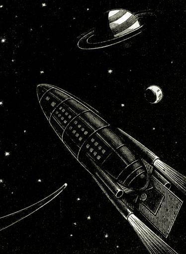 полёт ракеты Циолковского