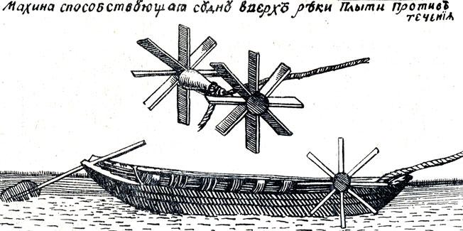 Схема устройства судна